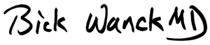 Bick Wanck, MD Logo